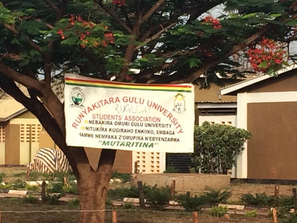 Gulu Uni student banner Vocational Education and Training (VET) Africa 4.0-min