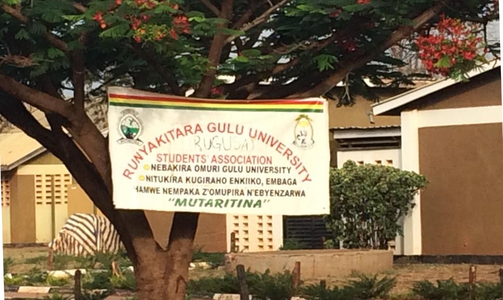 Gulu Uni student banner Vocational Education and Training (VET) Africa 4.0