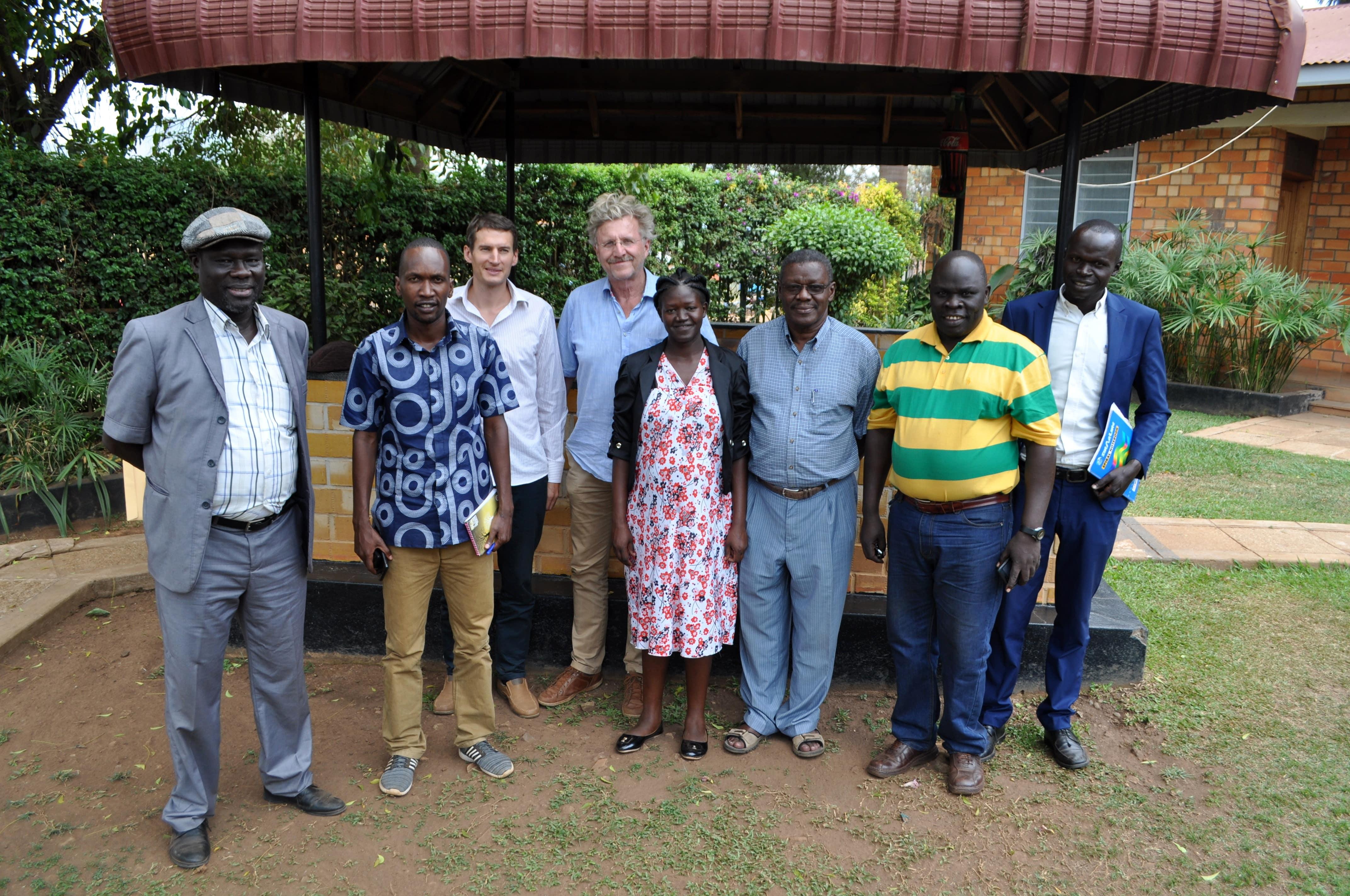 Uganda team Vocational Education and Training (VET) Africa 4.0-min