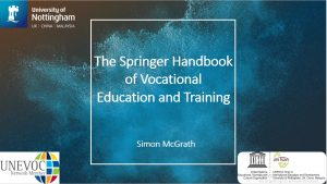 The springer handbook of vocational education and training